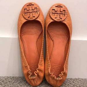 Gently used Tory Burch Flats!